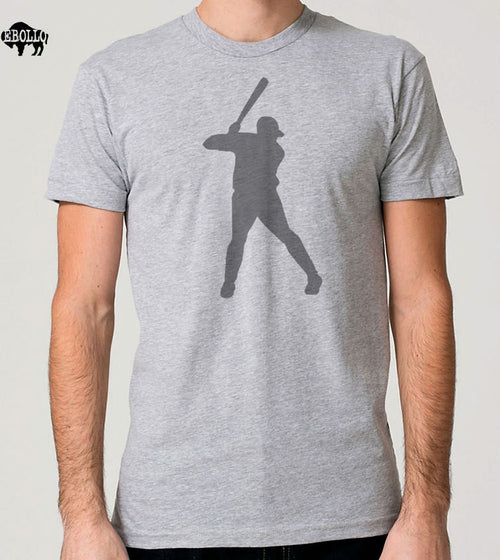 Baseball Player Graphic Men's T-shirt