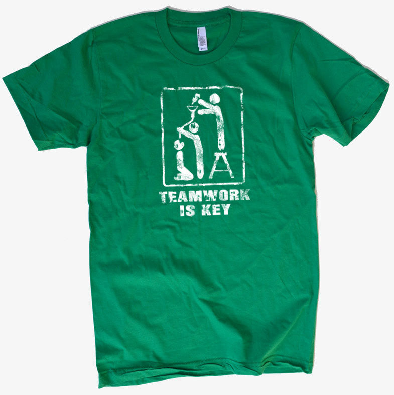 TeamWork is Key Men's T-Shirt