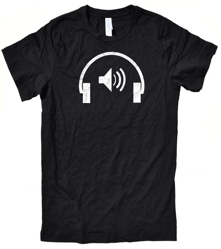 Earphone Men's T-Shirt