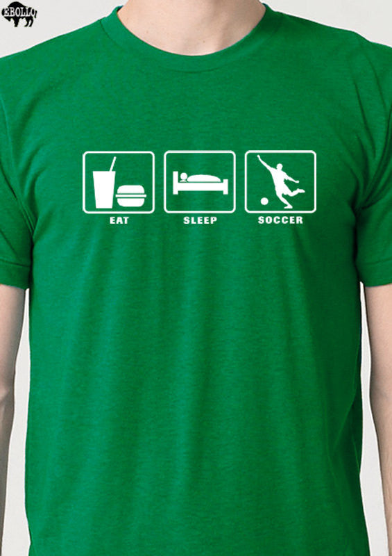 Eat Sleep Soccer Men's T-Shirt