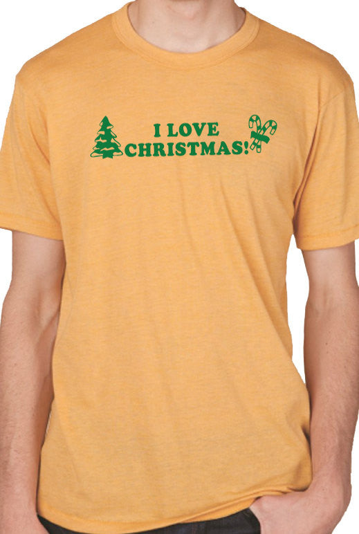 I Love Christmas Men's T-Shirt