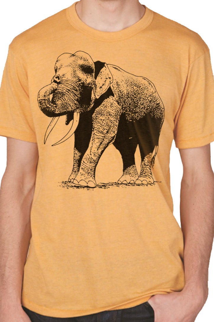 Graphic Elephant Men's T-Shirt