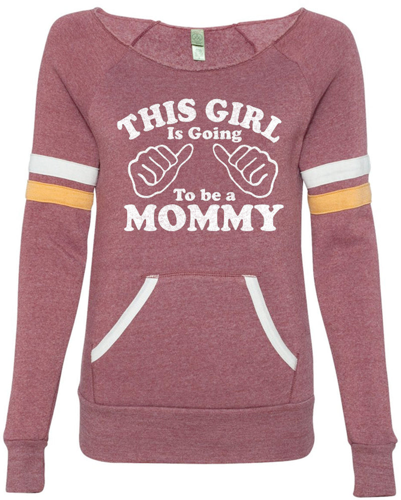 This Girl is going to be a Mommy Eco Fleece Sweatshirt