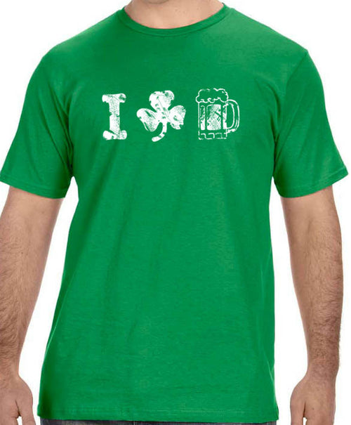 I Love Beer Men's T-Shirt