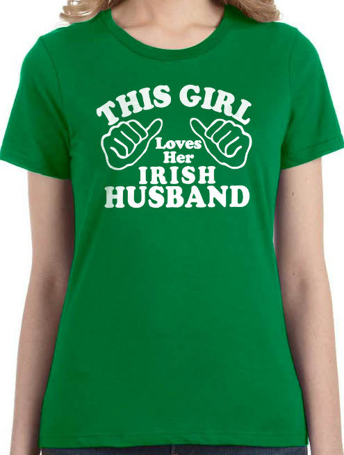 This Girl Loves Her Husband T-Shirt - eBollo.com