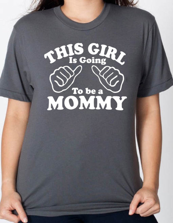 This Girl is going to be a Mommy Women's T-Shirt - eBollo.com