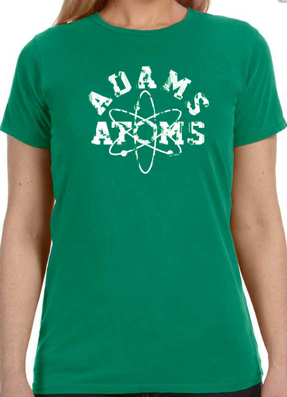 Adams Atoms Women's T Shirt Wife Shirt Funny T Shirt Graphic Tee - eBollo.com