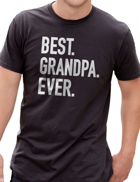 Best Grandpa Ever Men's T-Shirt