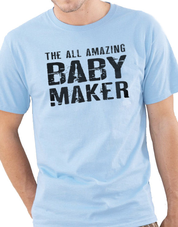 The All Amazing Baby Maker Men's T-Shirt - eBollo.com
