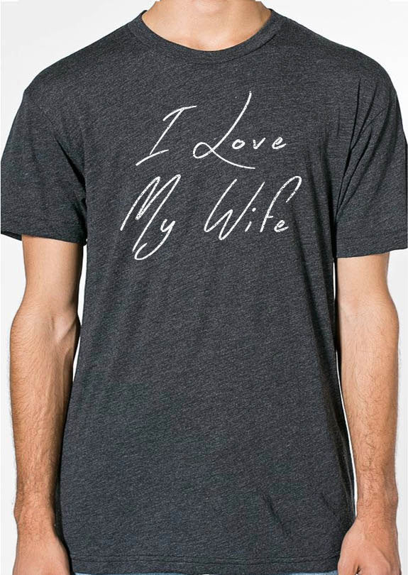 I Love My Wife Men's T-Shirt - eBollo.com