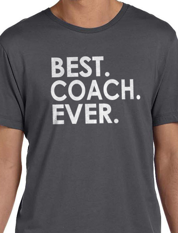 Best Coach Ever Men's T-Shirt - eBollo.com