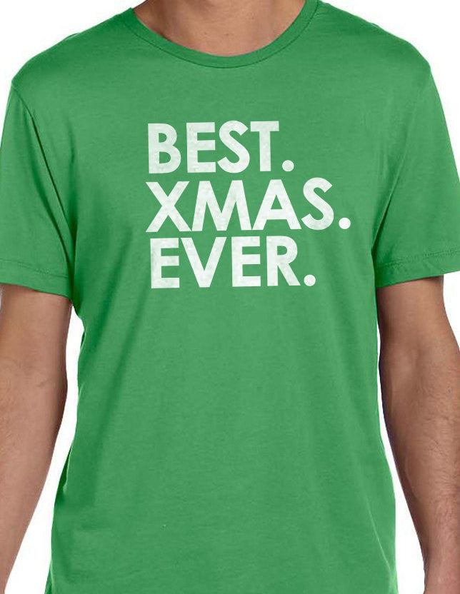 Best XMAS Ever Men's T-Shirt - eBollo.com