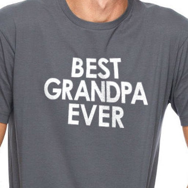 Best Grandpa Ever Men's T-Shirt - eBollo.com