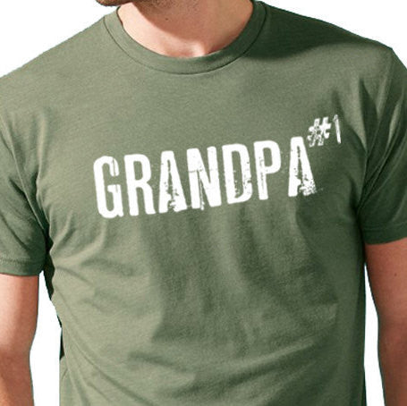 GRANDPA #1 Men's T-Shirt