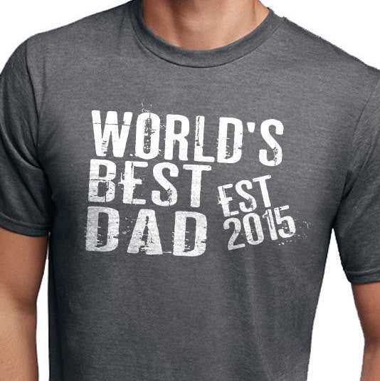 World's Best Dad Men's T-Shirt - eBollo.com