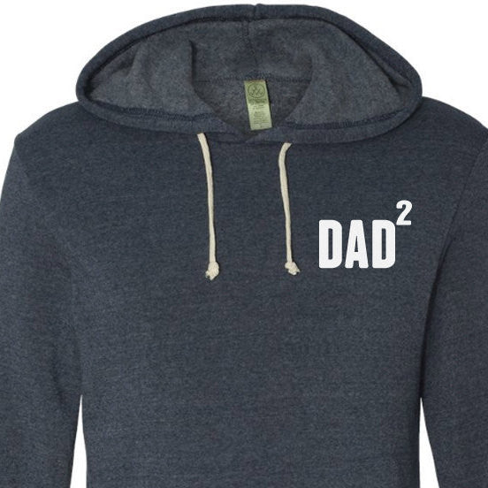 DAD 2 Eco-Fleece Hooded Pullover