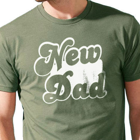 New Dad Men's T-Shirt - eBollo.com