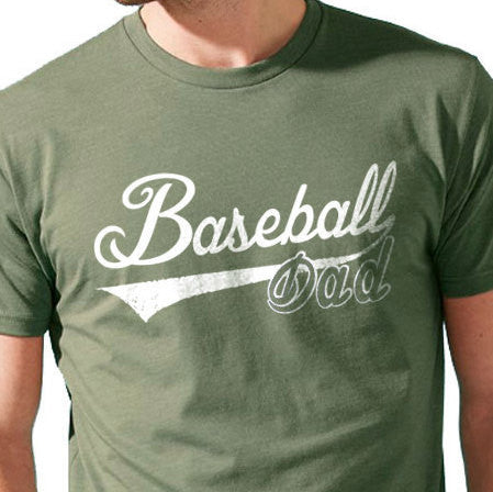 Baseball Dad Mens T shirt - eBollo.com