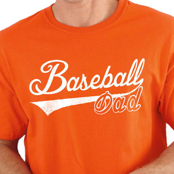 Baseball Dad Men's T-Shirt - eBollo.com