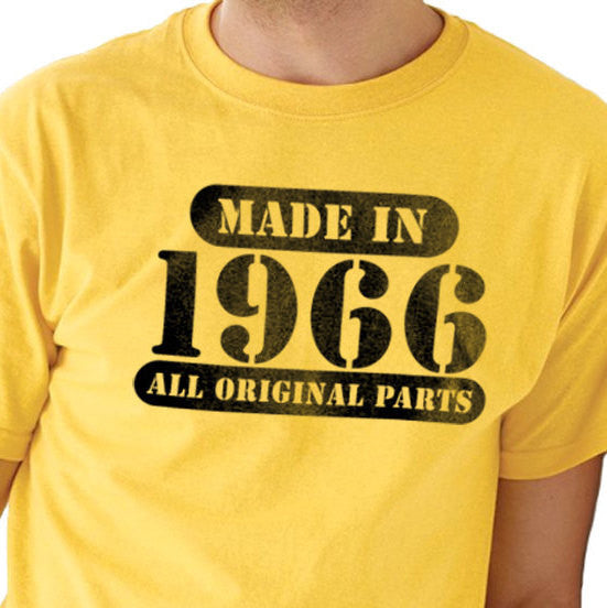 Made in 1966 ( ANY YEAR) Men's T-Shirt