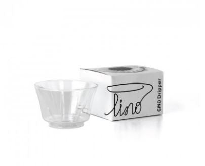 LINO Glass Coffee Dripper for Use With Filters