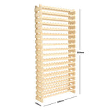 216 Bottle Wine Rack (18 layers high x 12 bottles wide)