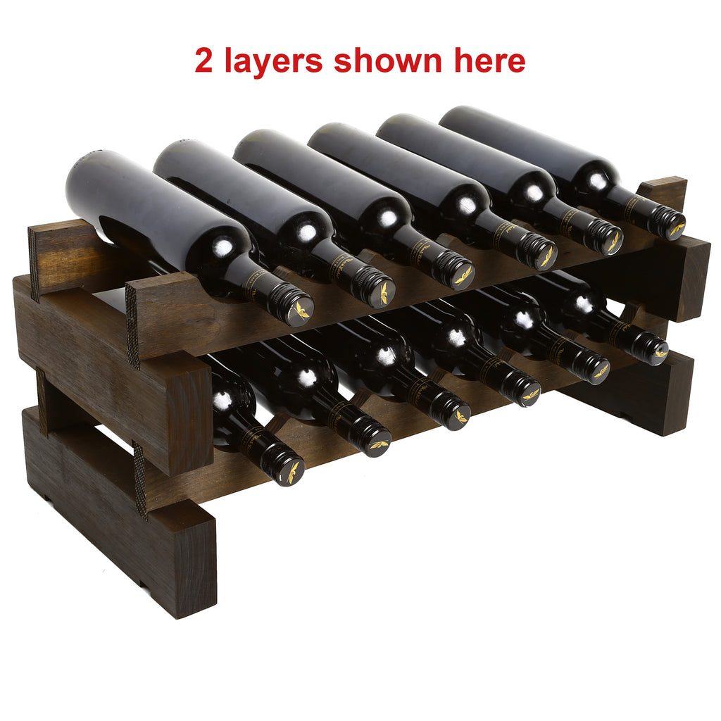 6 Bottles Wine Rack