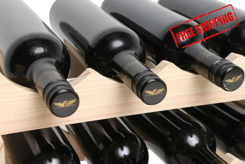 6 Bottle Wine Rack -  Modularack Wine Rack