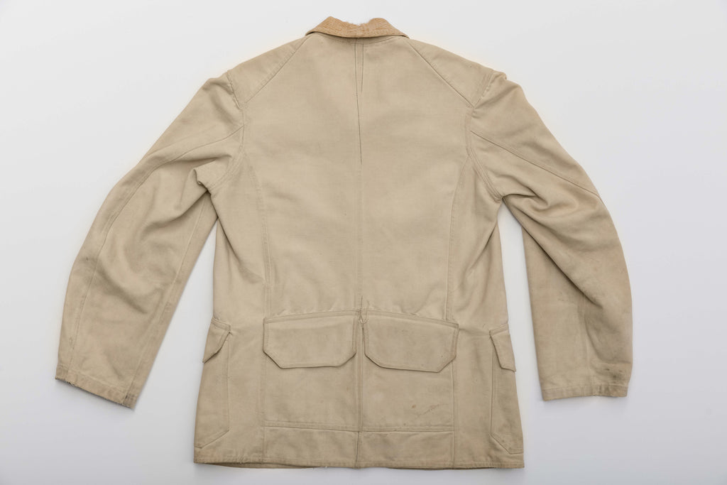 1895 Peninsular White Duck Hunting Coat