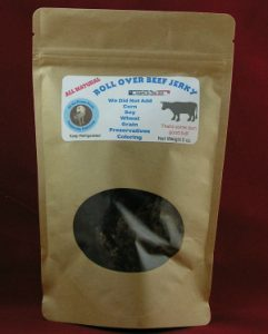 roll over beef jerky dog treat