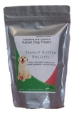 Peanut Butter Biscotti Italian Dog Treats