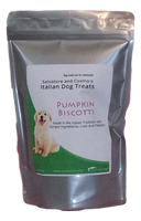 Pumpkin Biscotti Italian Dog Treats