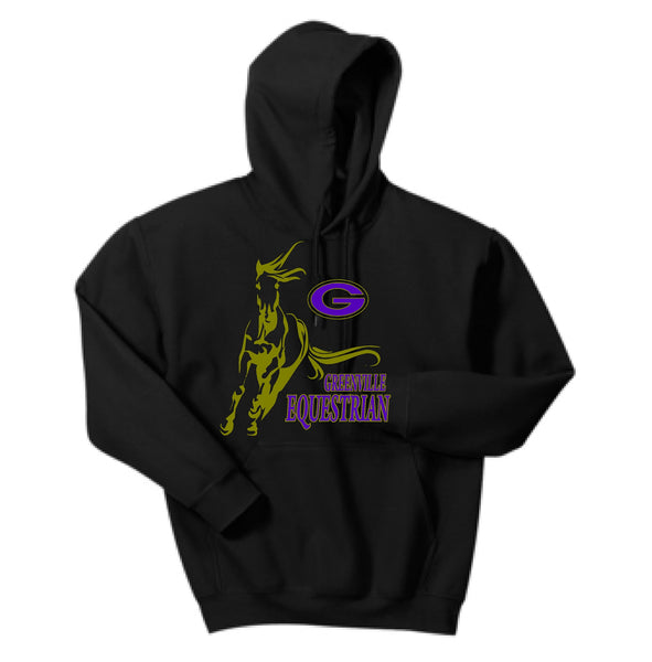 Greenville Equestrian Youth 50/50 Cotton/Poly Hoodie
