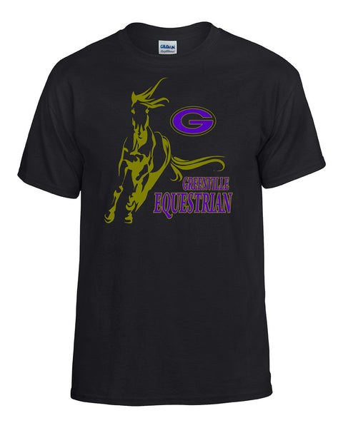 Greenville Equestrian Cotton Tee