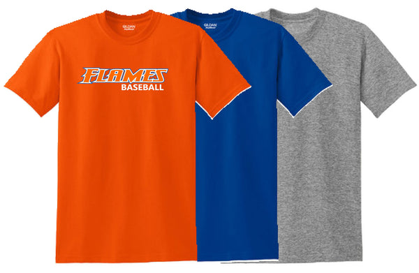 Flames Baseball Gildan® - DryBlend® 50 Cotton/50 Poly T-Shirt