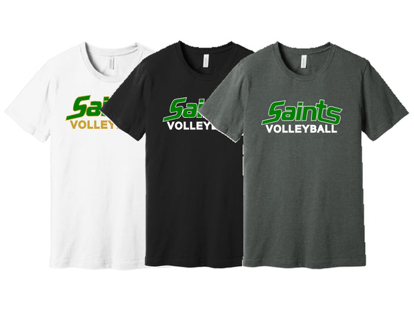 Saints Volleyball S/S Tee