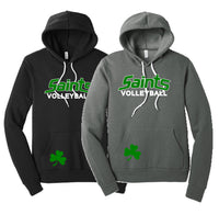 Saints Volleyball Sponge Fleece Hoodie
