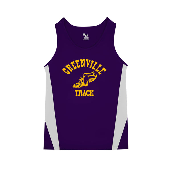 GMS Track Youth Stride Singlet
