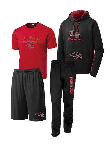 Cedar Springs Wreslting Package #2 (Adult Sizes)
