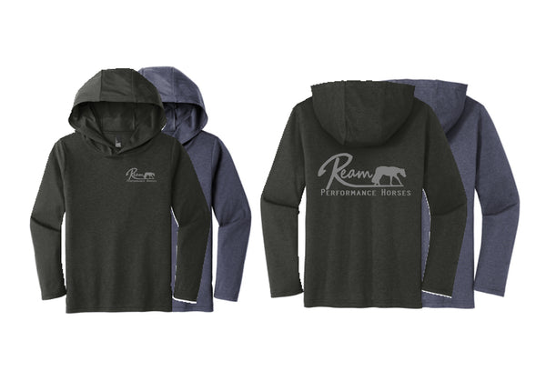 Ream Performance Horses Youth Hooded Tee