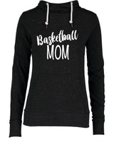 Ladies Basketball Mom Funnel Neck Shirt