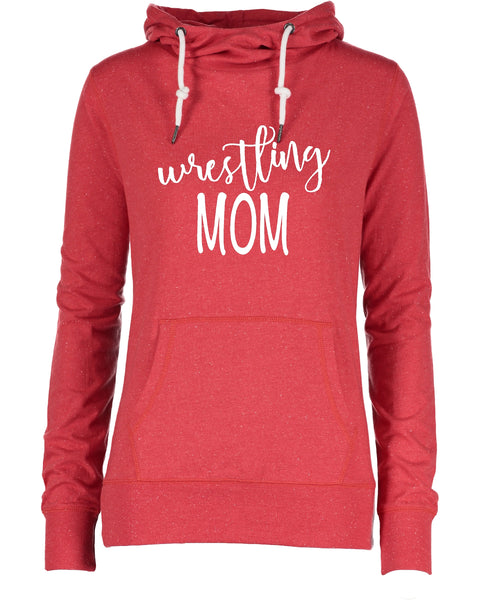 Ladies Wrestling Funnel Neck Shirt