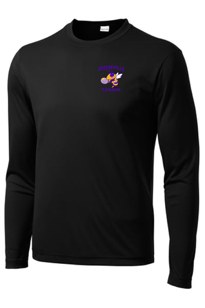 Greenville Jackets Tennis Performance L/S Tee