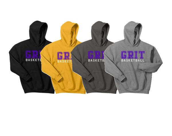 G.R.I.T. Basketball Gildan® - Youth Heavy Blend™ Hooded Sweatshirt (Design2)