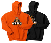 Belding Black Knights Gildan® - Youth Heavy Blend™ Hooded Sweatshirt