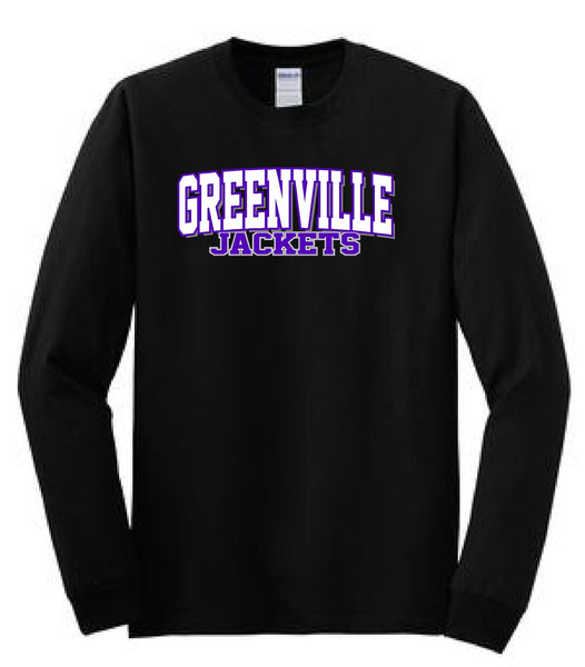 Greenville Jackets Gildan® - Heavy Cotton™ 100% Cotton Long Sleeve T-Shirt