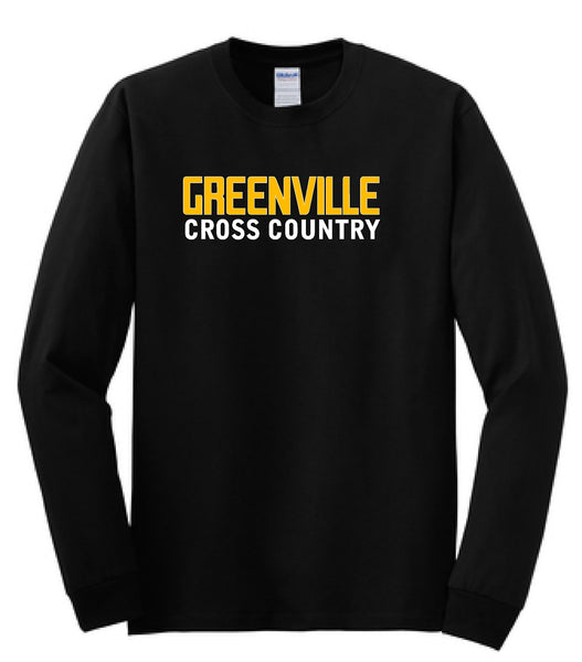 Greenville Cross Country Cotton Long Sleeve Tee