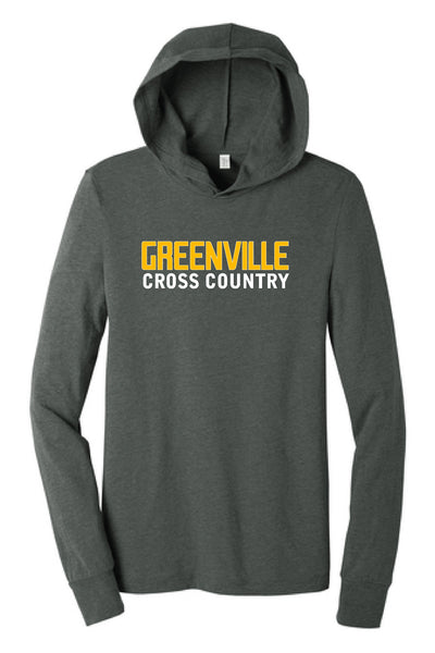 Greenville Cross Country Hooded Long Sleeve
