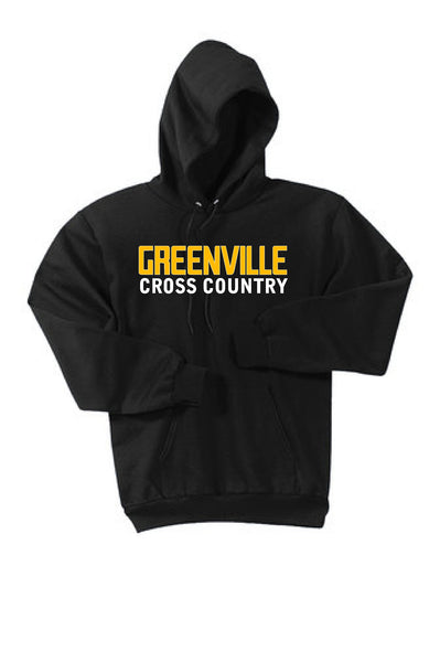 Greenville Cross Country Heavy Cotton Hoodie