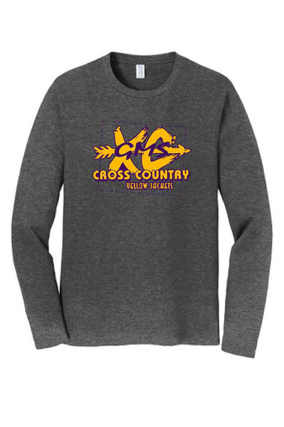 GMS Cross Country Adult Cotton Long Sleeve Tee